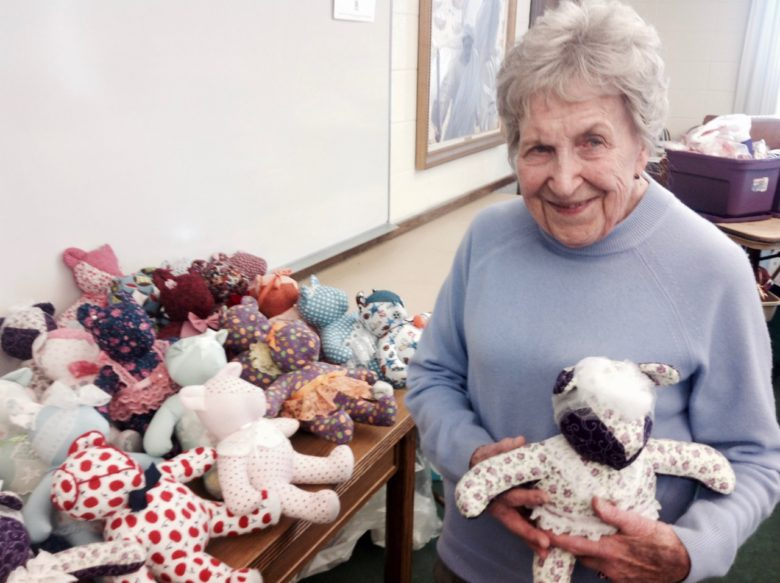 "Ruth Brasher, ""The Teddy Bear Lady"""